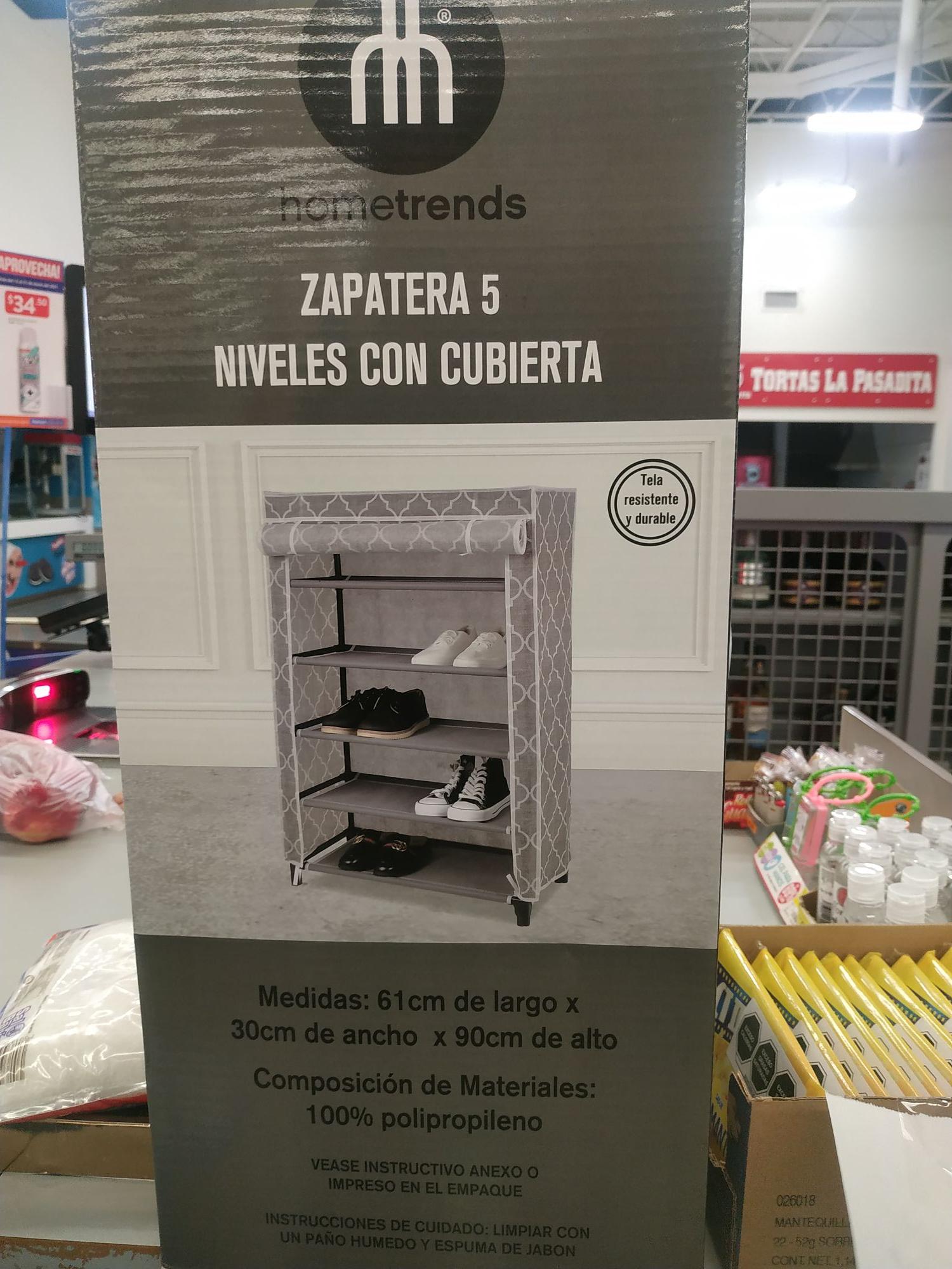 Walmart: Zapatera 5 niveles