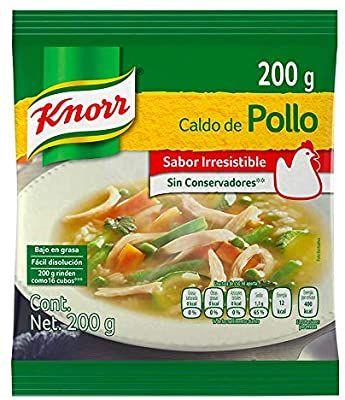 Amazon: Knorr® Caldo de Pollo en polvo de 200 gramos