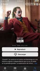 iTunes: JOKER 4k Dolby Atmos + Dolby Vision