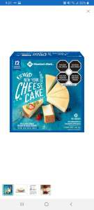 Sam's Club: Culiacan 3 rios: CHeesecake Member's Mark 1.41 kg