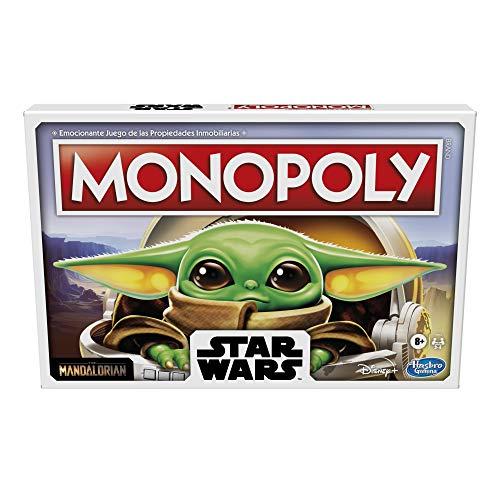 Amazon: Monopoly Baby Yoda, Grogu o Gregorio, con 40% de descuento