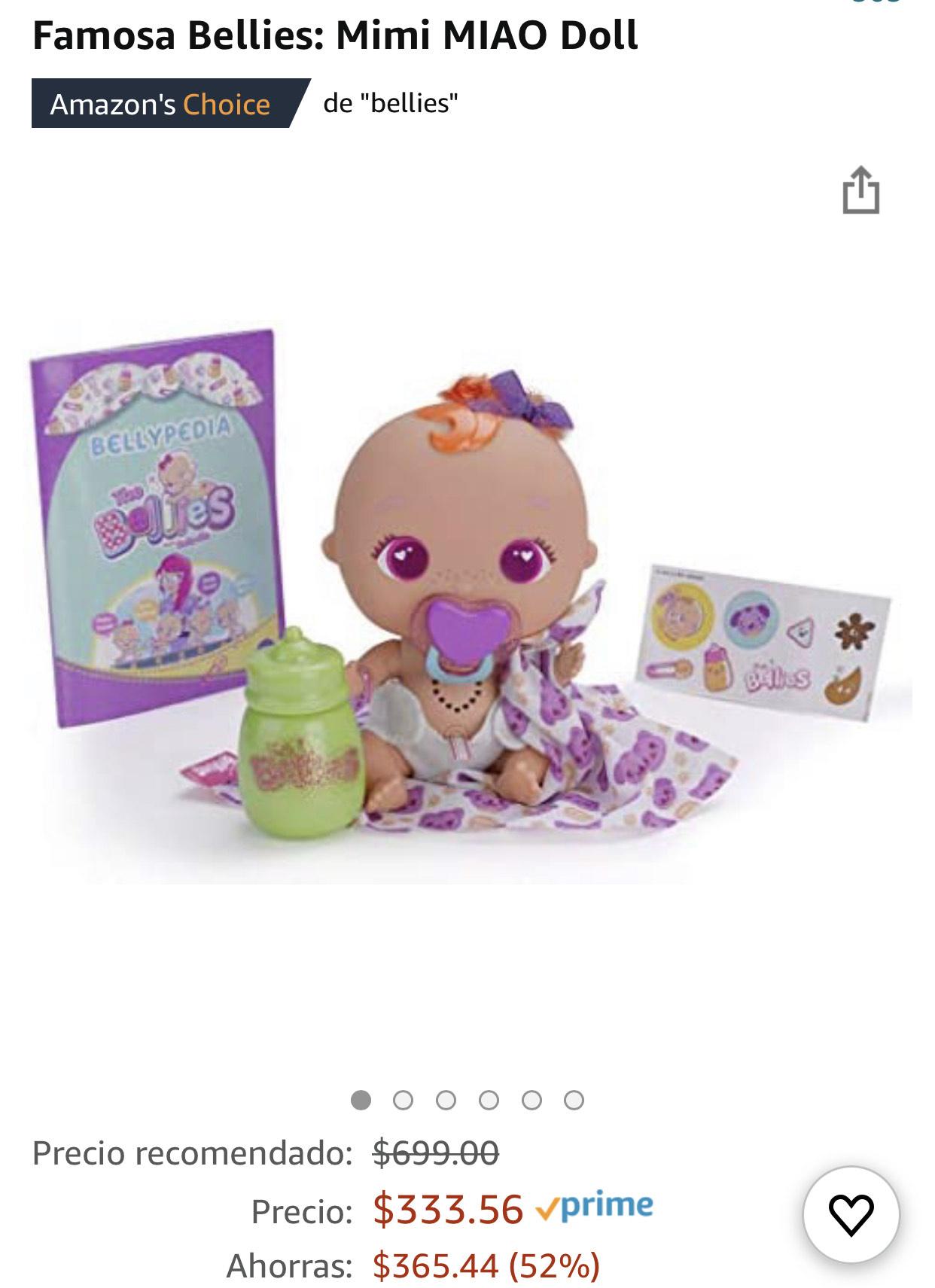 Amazon: Famosa Bellies: Mimi MIAO Doll