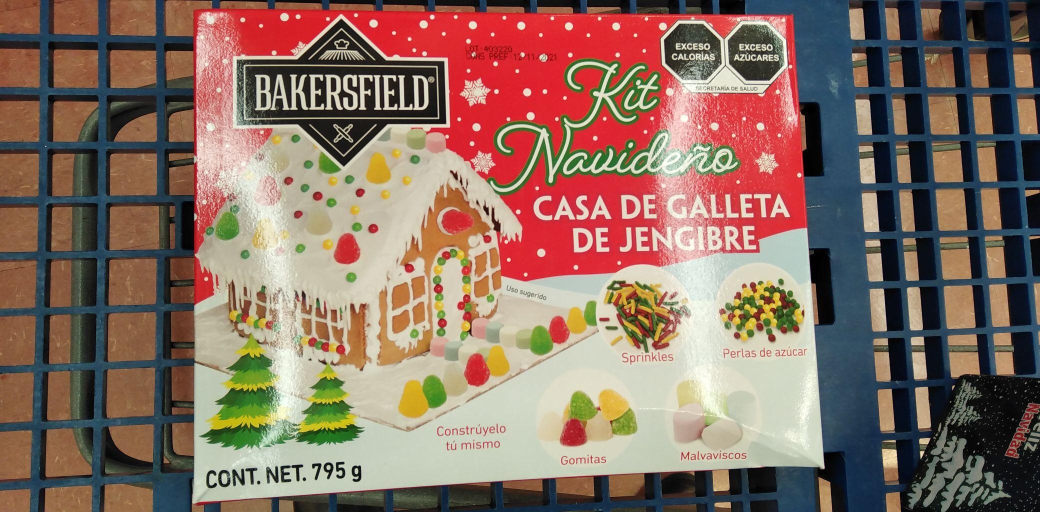 Walmart: kit casa galleta de jengibre
