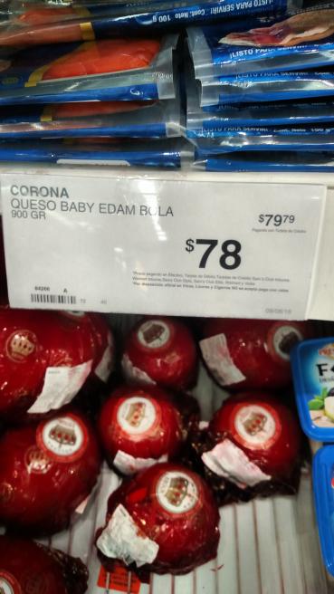 Sam's Club: queso Edam Baby a $78