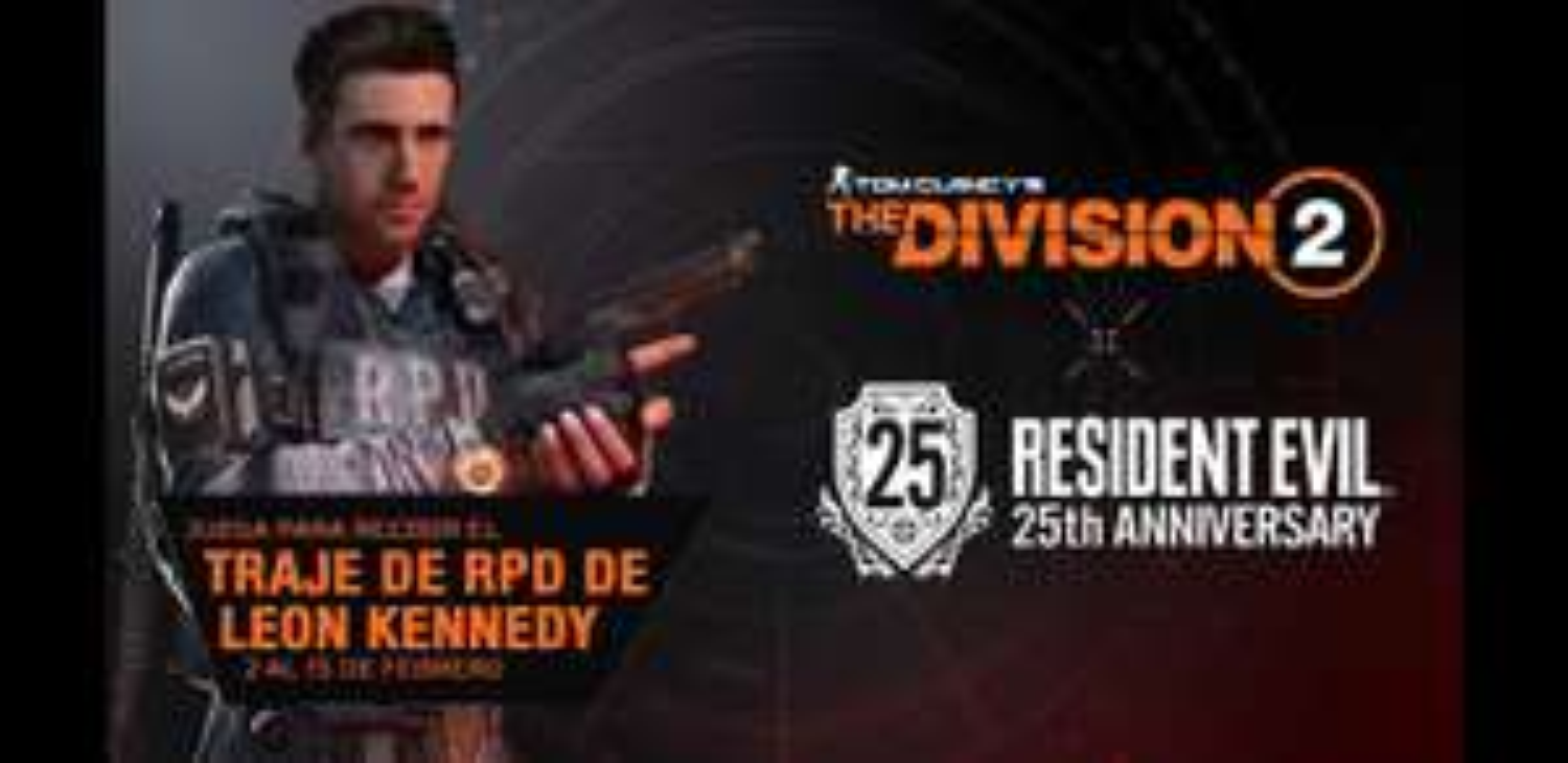 The Division 2 - Traje de Leon Kennedy Gratis