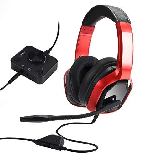 Amazon: Audífonos AmazonBasics, B07L8TTY9Z, Red, 20x8.9x19.5