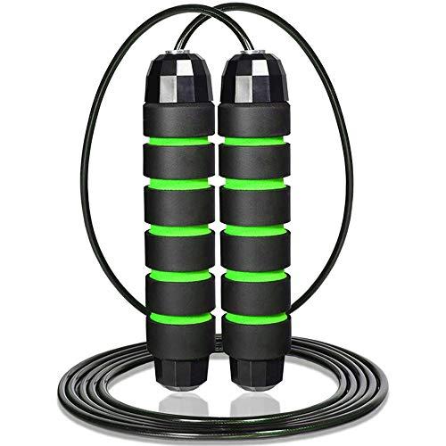 Amazon: LETTURE 300cm Cuerda para Saltar, Fácil de Ajustar y Con Manijas Cómodas, Calidad Premium de Cuerdas de Salto