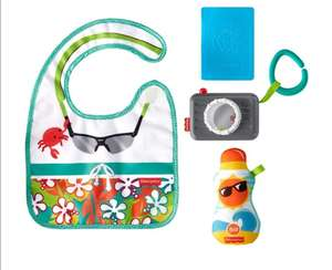 Amazon: Fisher-Price Kit De Regalo Mini Turista Mordedera para bebés de 3 Meses en adelante