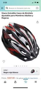 Amazon: Casco para ciclista Adulto