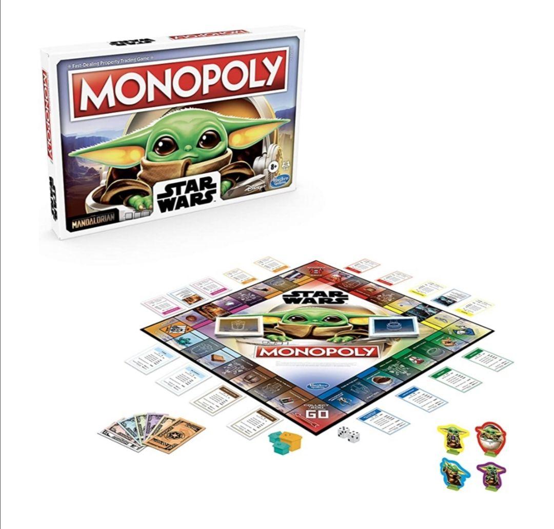 Amazon: Monopoly: Star Wars The Child Edition Juego de Mesa