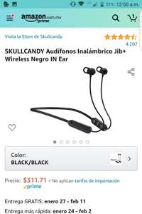 Amazon: Skullcandy Jib+ wireless