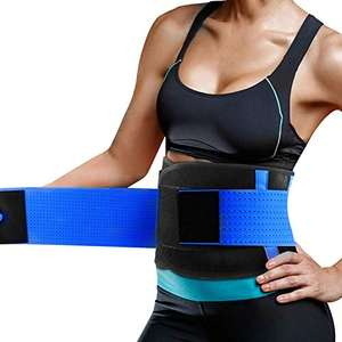 Amazon: Cintura Entrenador, Fajas Reductoras Adelgazantes, Respirable Ajustable Cintura Belt Bodyshaper Cinturón para Hourglass