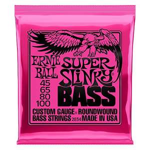 Amazon Cuerdas Bajo Ernie Ball Super