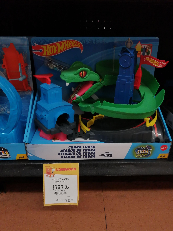 Walmart: Hotwheels y lego en liquidación wallmart