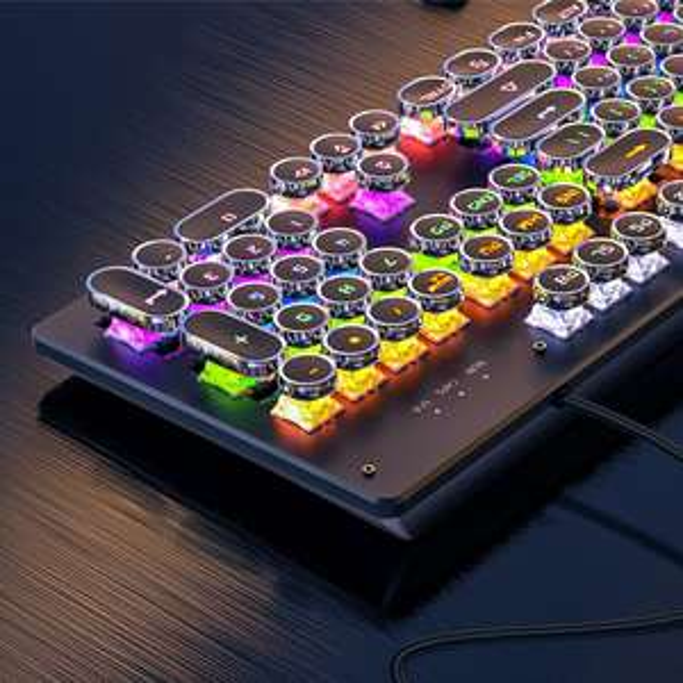 AliExpress: Teclado mecánico RGB REDSTORM