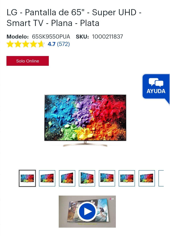 Best Buy: LG - Pantalla de 65 4k Nanocell