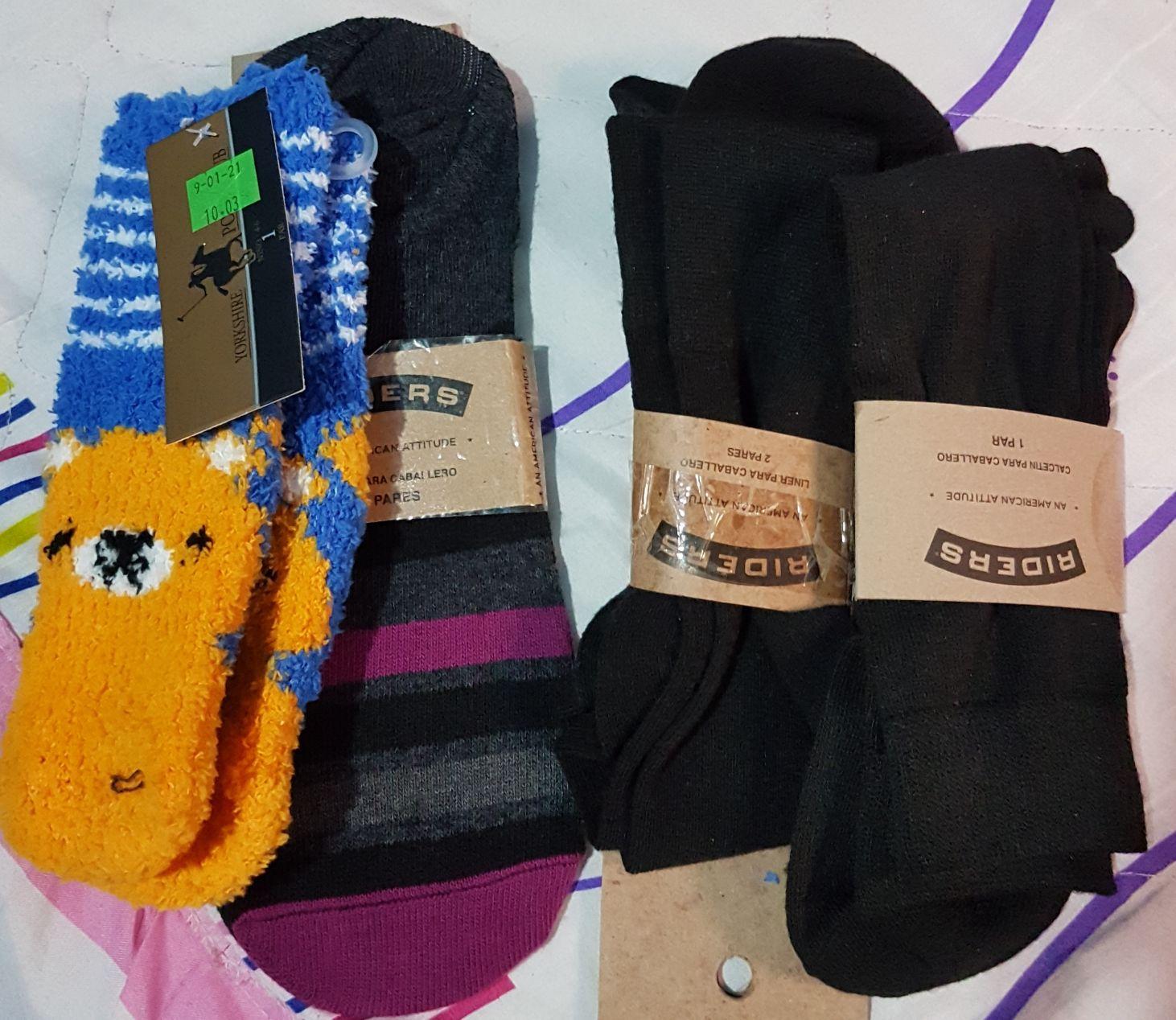 WALMART MACROPLAZA SLP. Tines, calcetín y calcetas