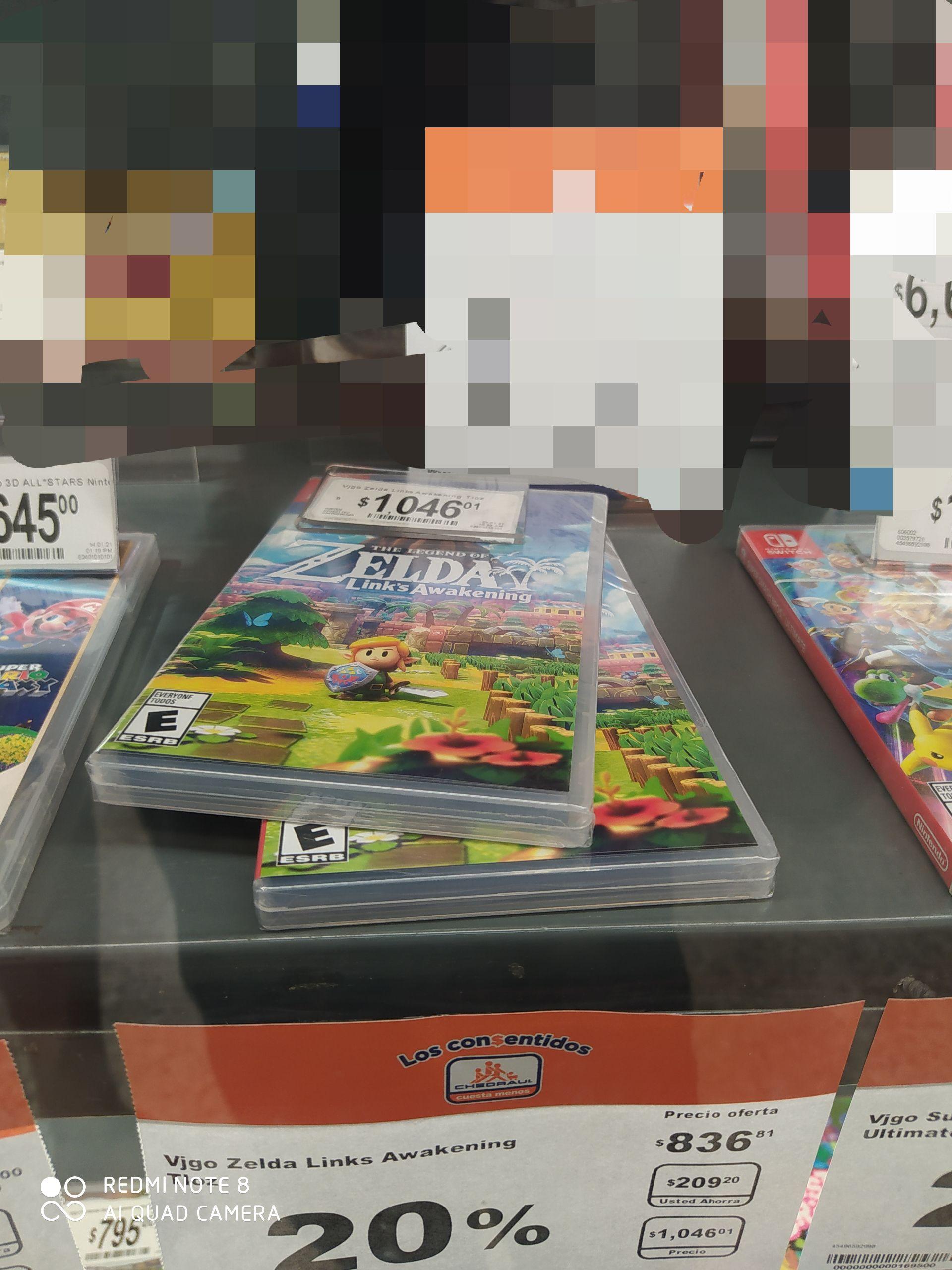 Chedraui XalapaThe Legend of Zelda Links Awakening - Nintendo Switch - Standard Edition