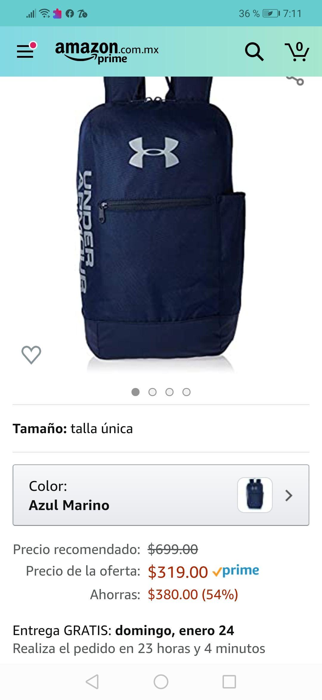 Amazon nMochila under armour