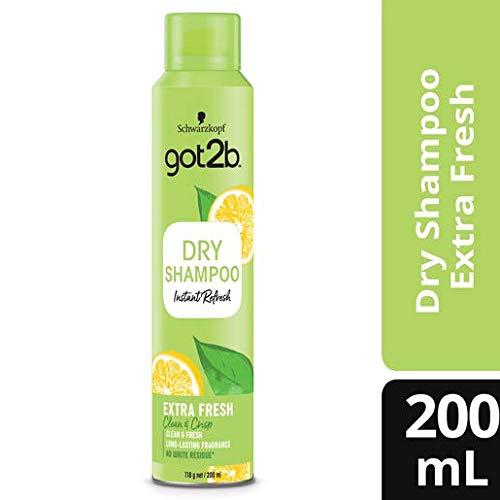 Amazon: Got2b Shampoo en seco fresh it up extra frescura, 200 ml