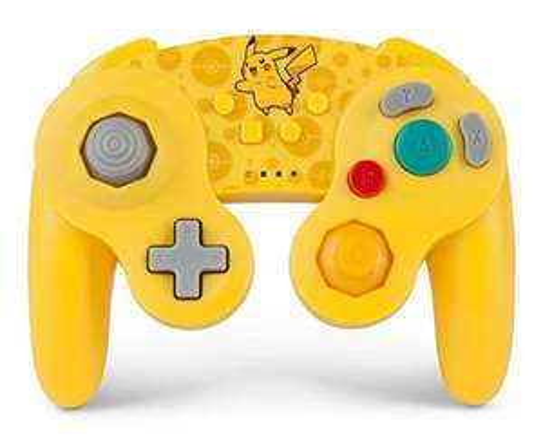 Amazon USA: Control inalambrico estilo gamecube pokemon pikachu Nintendo switch