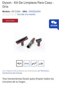 Best Buy: Dyson - Kit De Limpieza Para Casa - Gris
