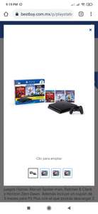 Best Buy: Consola ps4