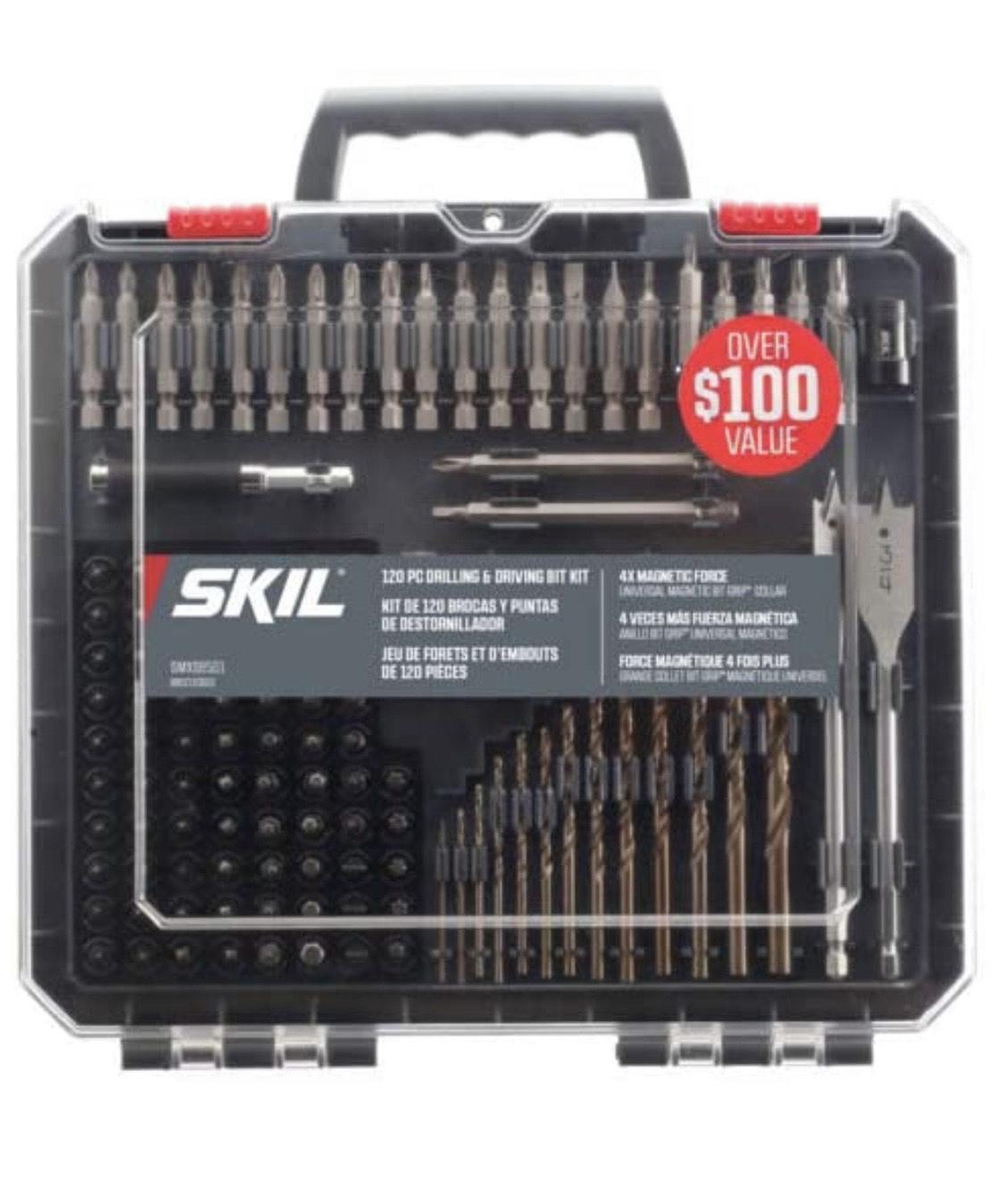 Amazon: Skil SMXS8501 - Juego de brocas y puntas (120 unidades)