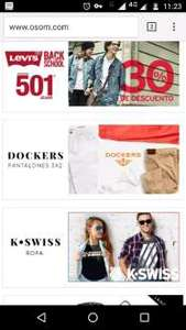 Ösom: 3x2 en pantalones de la marca Dockers