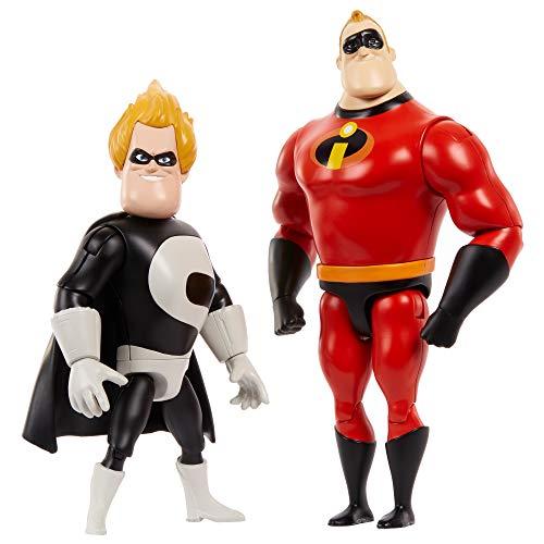 Amazon: Disney Pixar Los Increíbles Paquete De 2 Figuras Figura de Acción