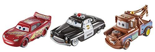 Amazon: Vehículos de Juguete Disney Pixar Cars Paquete de 3 personajes