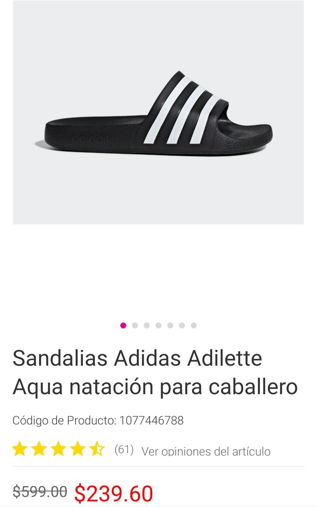 Liverpool: Sandalias adidas adilette varias tallas