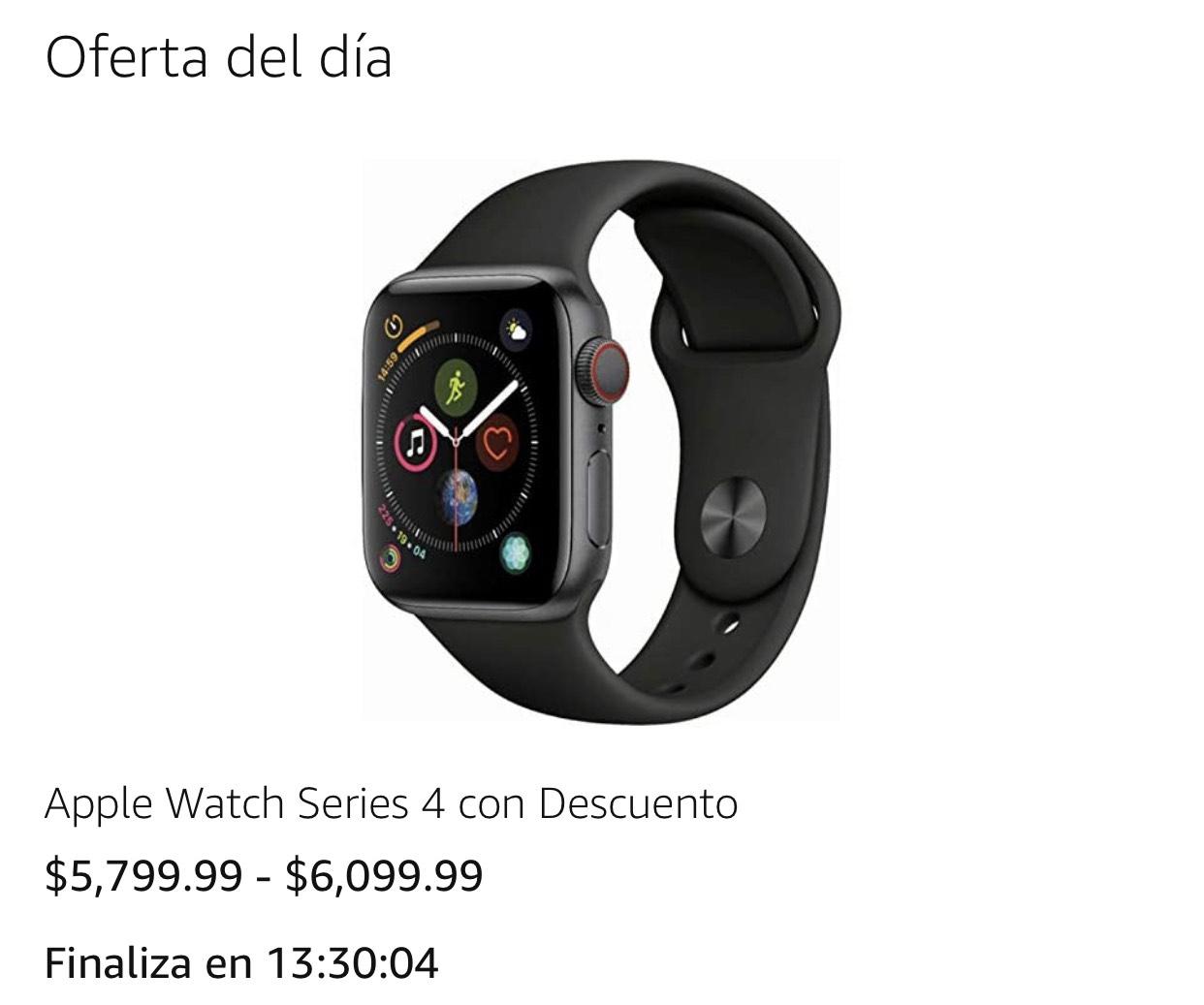 Amazon, Apple watch 4