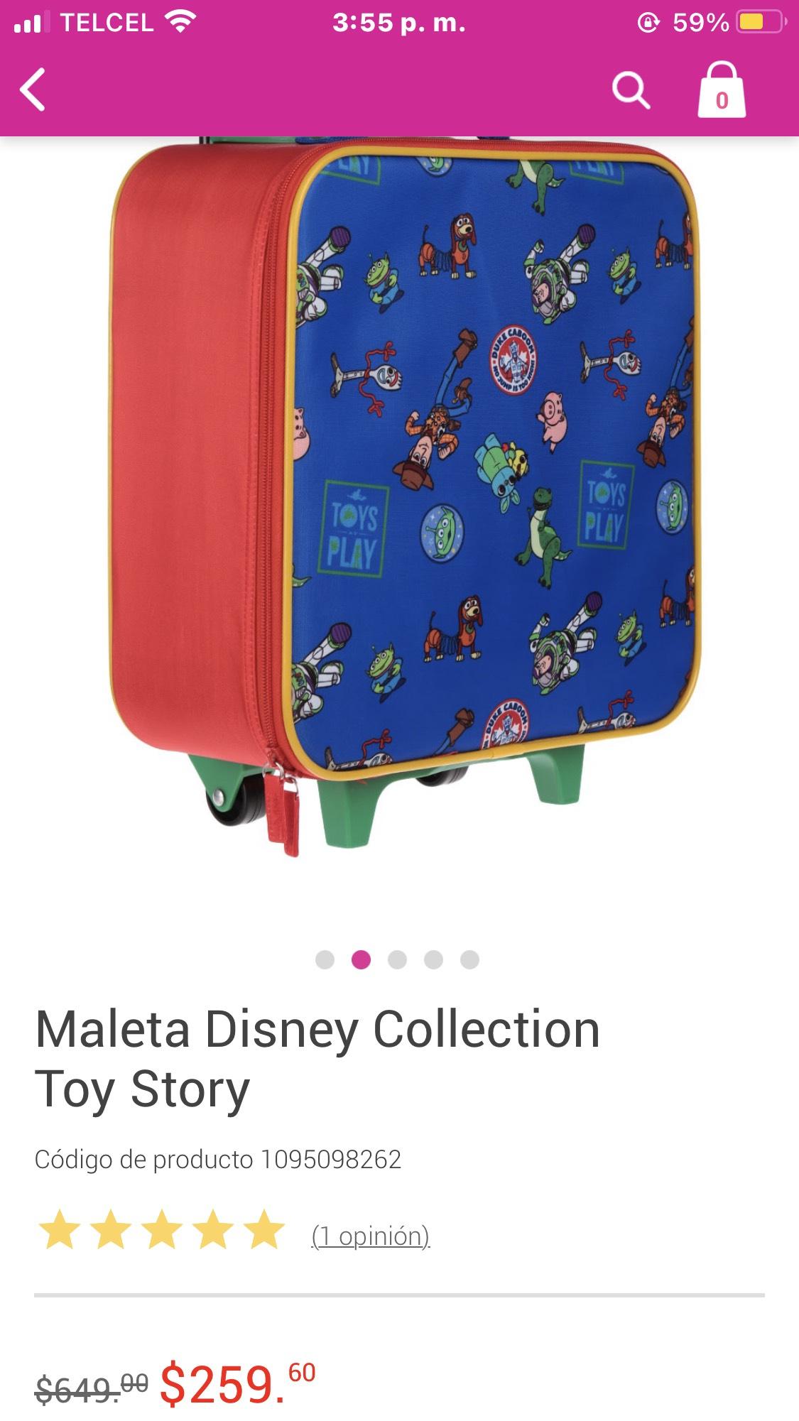 Liverpool: Maleta Toy Story