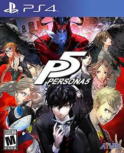 Amazon: Persona 5 para ps4