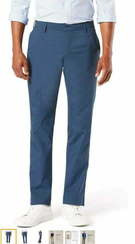 Amazon: Dockers Pantalón de Corte Ajustado Supreme Flex Pantalones Casuales para Hombre