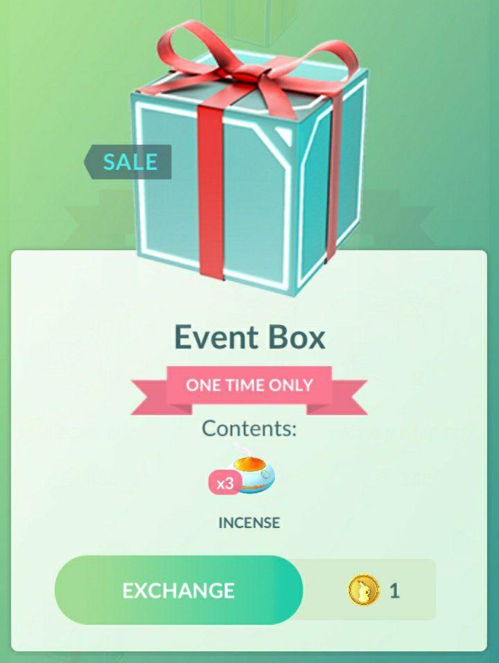 Pokémon Go: 3 inciensos por 1 moneda