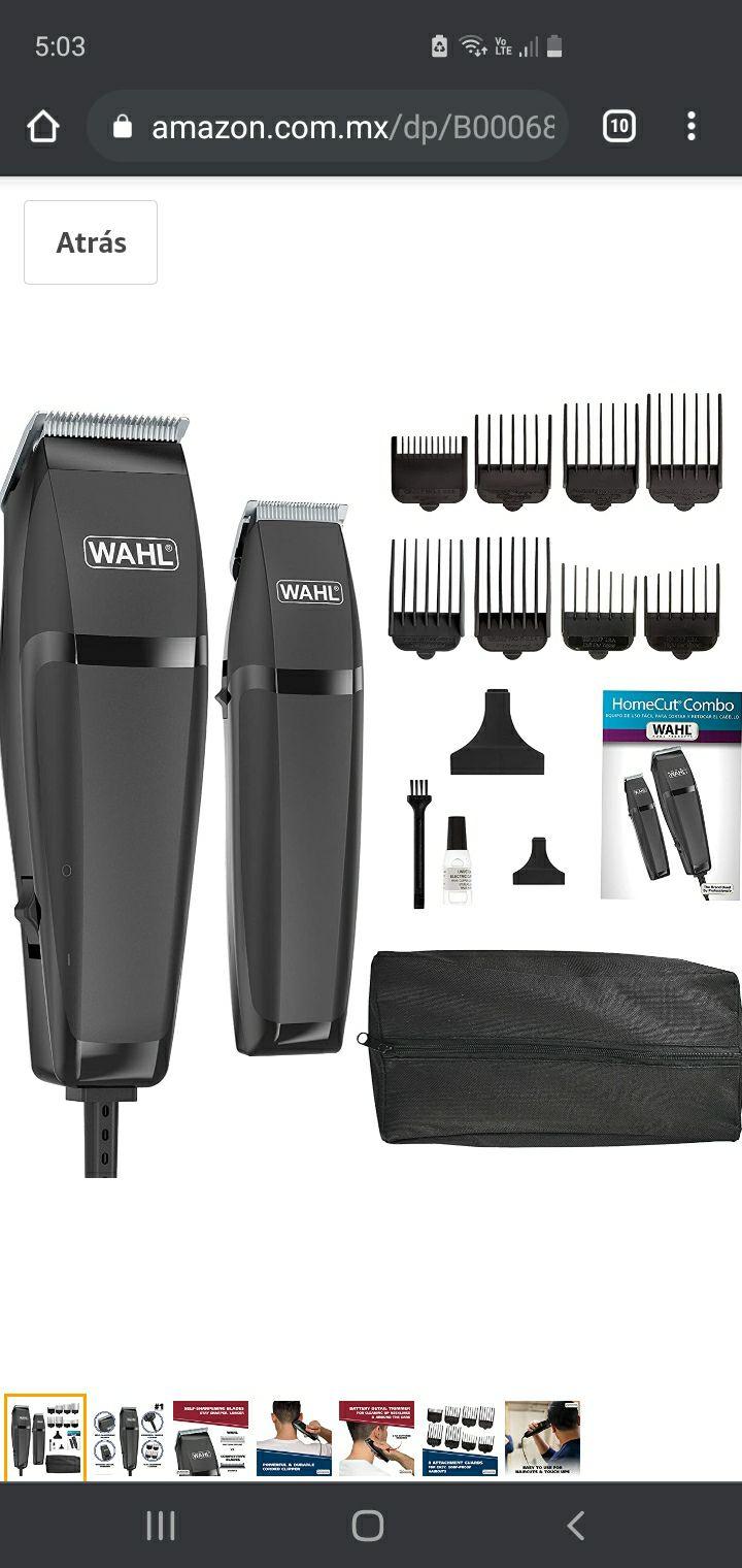 Amazon: Maquina para cortar cabello