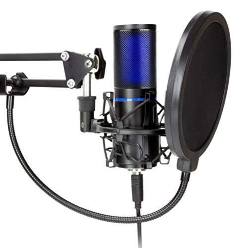 Amazon: Microfono y green screen para streamers