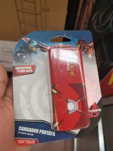 Walmart Acapulco Diamante :Power bank Avengers 3,600 MaH de $237 a $69
