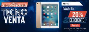 RadioShack : iPad Air 2 16gb  $6,800 y bafle gratis