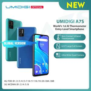 AliExpress: UMIDIGI A7S Versión Global