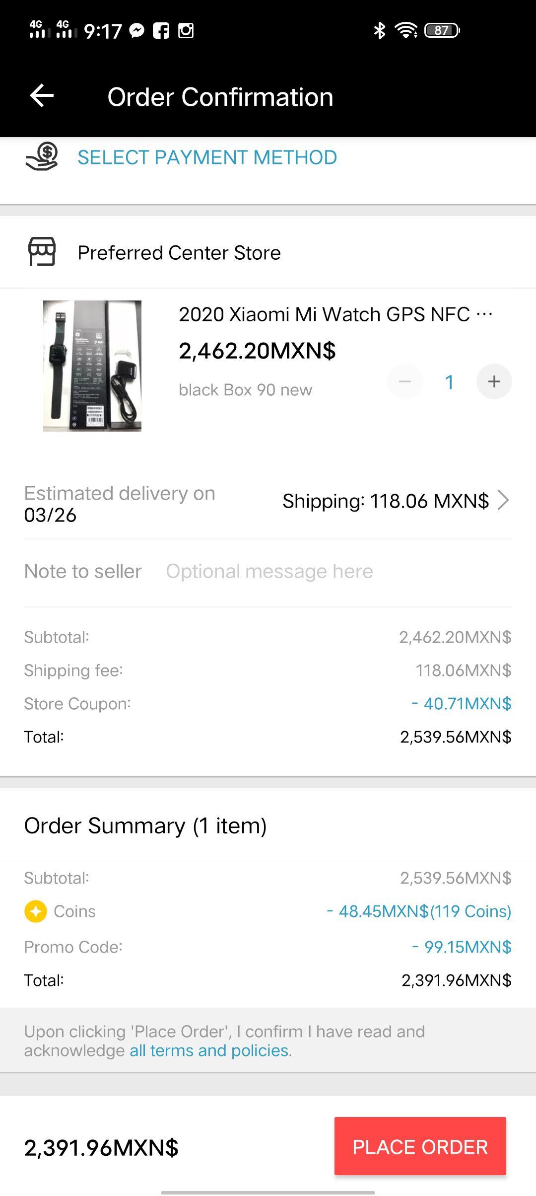 AliExpress: $100 de descuento en compras de $850