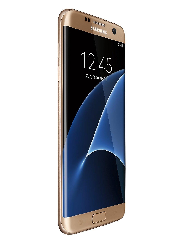 Amazon: Samsung Galaxy S7 Edge Gold Platinum Totalmente desbloqueado (Vendido y enviado por Amazon)