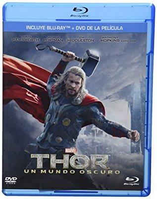 Amazon MX: Thor Un Mundo Oscuro Blu-ray + DVD a $79