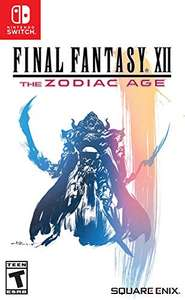 Amazon: Square Enix Final Fantasy XII: The Zodiac Age vídeo - Juego (Nintendo Switch, Acción/ RPG, T (Teen)) - Remastered Edition -