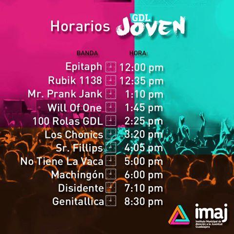 IMAJ Guadalajara: Evento gratuito sábado, 13. agosto 2016, GDL Joven 2016
