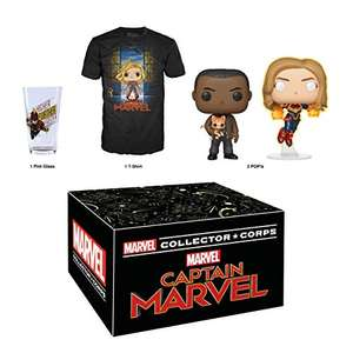Amazon: Funko Marvel Collector Corps: Captain Marvel