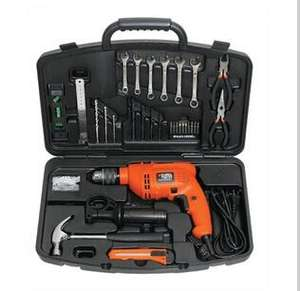 Walmart: Rotomartillo Black and Decker mas Kit de Herramientas con 30 Pzas