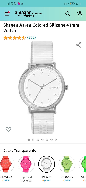Amazon: Reloj Skagen SKW6605